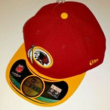 Washington Redskins Official NFL On Field Fitted Hat Cap New Era 5950 Size 7 7/8