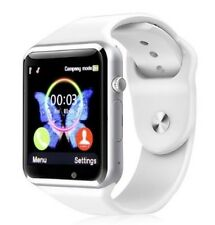MKUYT A1 Bluetooth Smart Watch with Camera SIM For all Android Smartphones,White