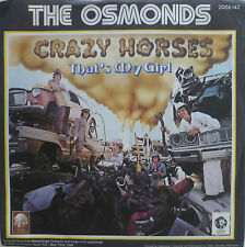 "7"" 1972 REAL KULT IN VG+++! THE OSMONDS : Crazy Horses"