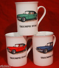 1 Triumph Stag car English Fine Bone China Mug  Cup