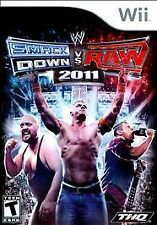 BRAND NEW SEALED WII WRESTLING - WWE SmackDown vs. Raw 2011 (Nintendo Wii, 2010)