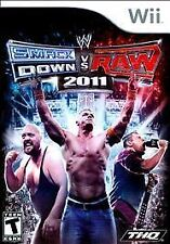 WWE SMACKDOWN VS RAW 2011 WII COMPLETE! EDGE, JOHN CENA, UNDERTAKER, Video Game