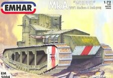 EMHAR 5004 - MkA 'Whippet' WW1 Medium Tank            1:72 Plastic Kit/Wargaming