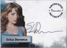 SMALLVILLE SEASON 4 A27 ERICA DURANCE AS LOIS LANE AUTOGRAPH