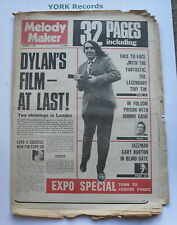 MELODY MAKER - November 2 1968 - BOB DYLAN / TINY TIM / JOHNNY CASH