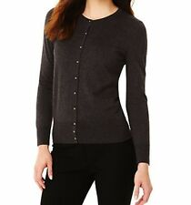 M&S Bubble Button Charcoal Size 12 Cardigan, BNWT