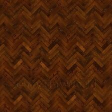 Dolls House Miniature Parquet Flooring 6 Inchcocoa Colour Oak Strip Effect
