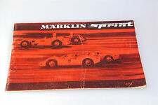 ORIGINALE MÄRKLIN SPRINT CATALOGO -1970 ANNI