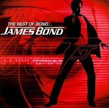 The Best of Bond... James Bond CD Soundtrack Sealed New