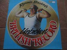 RONNIE BARKER'S UNBROKEN BRITISH RECORD - LP/VINYL - K-TEL - NE 1029 - UK - 1978