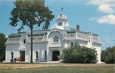 Vermont VT Weybridge University Morgan Horse Farm UVM Main Barn Postcard