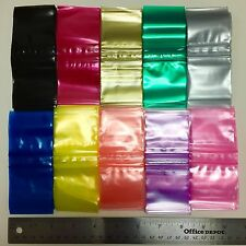 "2020 ZIPLOCK PLASTIC BAGS COLORS 1000 PCS CHOOSE OR MIX 2.8MIL 2"" X 2"""