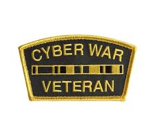 CYBER WAR VETERAN MEDAL RACK Morale Patch Everyday No Days Off ENDO troll