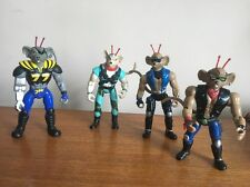 4 X Biker Mice From Mars Figures Action Toy VTG 90s Action Figures