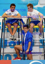 JACK LAUGHER #33,CHRIS MEARS,TOM DALEY,candid photo