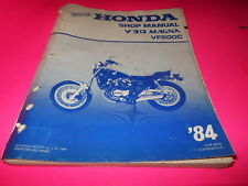 OEM Factory Honda Shop Manual 1984 VF500C V30 Magna