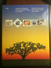 1992 CANADIAN ANNUAL SOUVENIR STAMP COLLECTION YEARBOOK