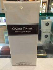 Zegna Colonia By Ermenegildo Zegna Men Cologne EDT Spray 2.5 oz NIB Seal Pac