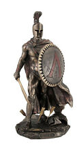 "9.75"" Leonidas Greek Warrior King Statue Sculpture Figurine Spartan Decor"
