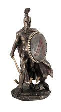 """9.75"""" Leonidas Greek Warrior King Statue Sculpture Figurine Spartan Decor"""
