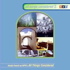 All Songs Considered, Vol. 2 by Various Artists (CD, Nov-2002, NPR Recordings)