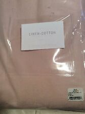 Restoration Hardware Baby & Child Cotton Linen Drapery 50x96L Petal Pink New!