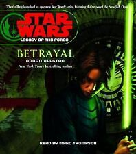 STAR WARS LEGACY OF THE FORCE ~ BETRAYAL by Arron Allston Audiobook 2006