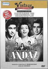 ANDAZ + FREE VCD (AAG) - NEW BOLLYWOOD  DVD - FREE UK POST