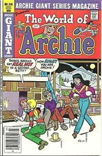 """1982 Archie Comics """"World of Archie"""" Giant Series #516 Fine++ B&V Skiing Cover"""