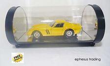Hot Wheels Showcase Ferrari 250 GTO Coupe 3l V12 Yellow w/Black G7235 1/18 MINT!