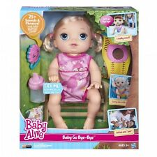 Baby Alive Doll Baby Alive Baby Go Bye Bye (Blonde) Talks English & Spanish