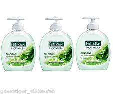 7,31€/L 3x 300ml Palmolive hygiène plus sensible Savon liquide
