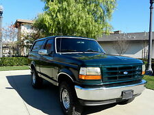 Ford: Bronco XLT