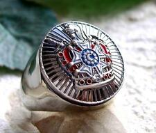 Knight Templar Jacques DeMolay Cross Mens Ring sizes 9,12