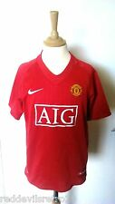 Manchester United 2007-2009 Official Nike Football Shirt (Youths 13-15 Years)