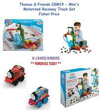 Thomas & Friends CGM19 - Mini's Motorized Raceway Track Set – Fisher Price