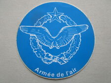 AUTOCOLLANT STICKER AUFKLEBER ARMEE DE L'AIR AILES FRENCH AIR FORCE