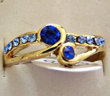 SIZE:7.5 ~ 9K _ YELLOW _ GOLD _ FILLED _RING  -- (GREAT_GIFT)