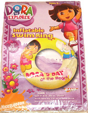 "DORA Inflatable Swimming Ring 20"" / Pool Toys NEW!"