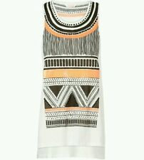 """Sass & Bide """"New Edition"""" Embellished Tank Size S (not oversized) rrp $250"""