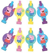 Peppa Pig Blowouts Birthday Decorations Party Favors Supplies ~ 8 Counts