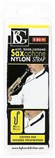 BG S80M Nylon Strap with Metal Hook for Soprano/Alto/Tenor Saxophone
