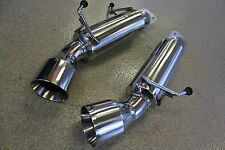 "Beluga Racing Performance Axle Back Exhaust Fits Nissan 370Z 09-17 3.7L 4"" Tips"