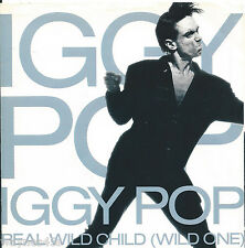 IGGY POP * Real Wild Child * 1986 * USA PICTURE SLEEVE ONLY * PS * NO RECORD