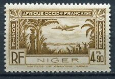 TIMBRE NIGER  NEUF *  N° 4 PA   POSTE AERIENNE AVION