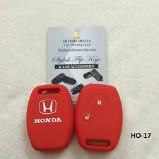 Honda Silicone Car Key Cover for City, Civic, Amaze, Jazz, Brio, Mobileo