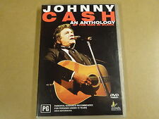 MUSIC DVD / JOHNNY CASH - AN ANTHOLOGY OF THE MAN IN BLACK