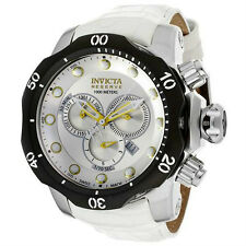Swiss Made Invicta 11856 Reserve Venom Chronograph Silver Dial Mens Watch