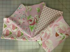 Freespirit Fabric Tanya Whelan Chloe Fabric Fat Quarter Bundle in Pink