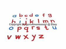 NEW Montessori Language Material - Small Movable Alphabet in Print -Letters Only